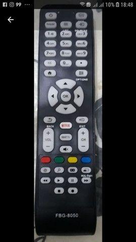 Controle remoto tv AOC