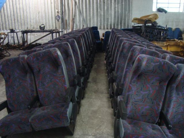 Bancos de ônibus, 49 lug. comil, canpeone, reformados, revisados - Foto 2
