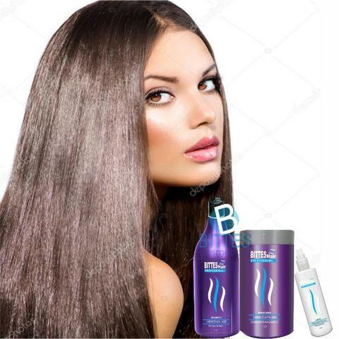 3 Kit Lipo Capilar Bittes Hair Menthol Ice Desemborrachante Cabelos Macios Brilhosos - Foto 5