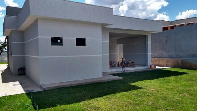 Samuel Pereira oferece Casa Moderna Alto da Boa Vista 3 Suites Churrasqueira Financia FGTS - Foto 18