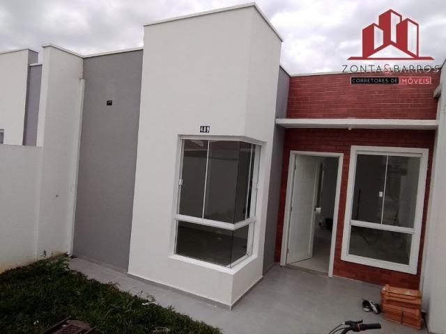 Casa à venda com 3 dormitórios em Eucaliptos, Fazenda rio grande cod:CA00039 - Foto 2