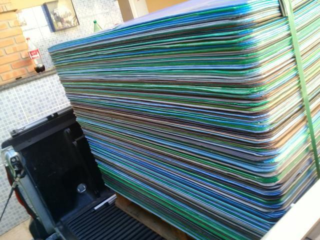 Chapas de poliondas usadas 1,00 x 1,20 - Foto 2