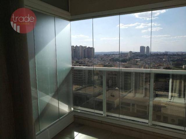 Flat com 1 dormitório para alugar, 44 m² por r$ 1.800,00/mês - bosque das juritis - ribeir - Foto 4