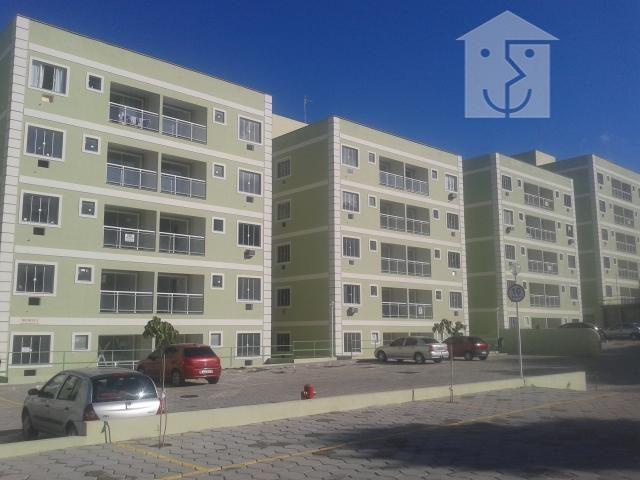 Apartamento com 2 dormitórios para alugar, 55 m² por r$ 700/mês - caxito - maricá/rj - Foto 7