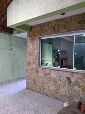 Sobrado com 3 dormitórios para alugar, 130 m² por r$ 1.700,00/mês - parque continental i - - Foto 6