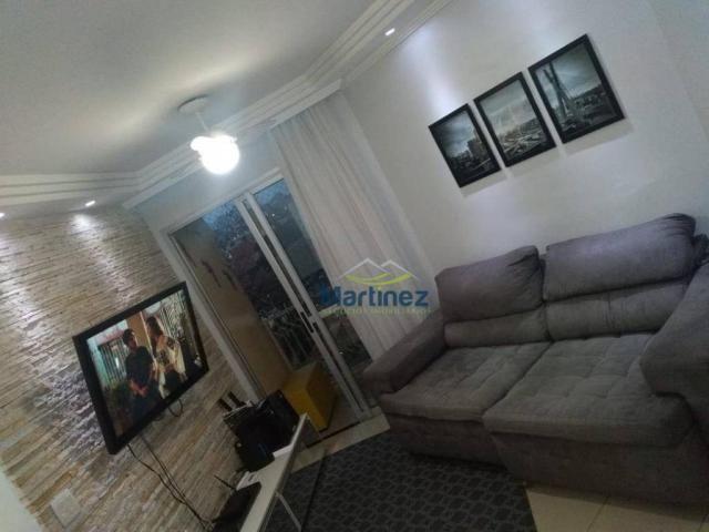 Apartamento com 2 dormitórios à venda, 56 m² por r$ 265.000 - vila alpina - são paulo/sp - Foto 3