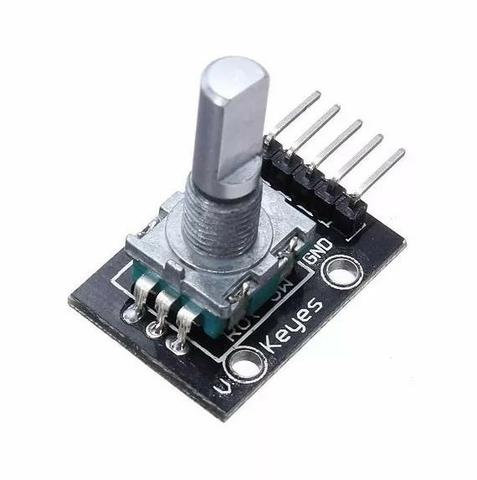 COD-AM87 Encoder Decoder Rotacional Potenciometro Arduino Automação Robotica - Foto 3