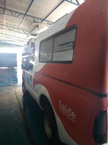 04 F250 4x2 Diesel - Sucata S/ Documento - Retirada De Peças - Foto 6