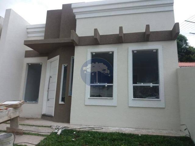 Casa com 3 dormitórios à venda, 66 m² - Porto das Laranjeiras - Araucária/PR - Foto 3