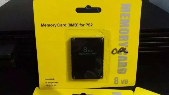 Memory Card PS2 Com Opl Atual