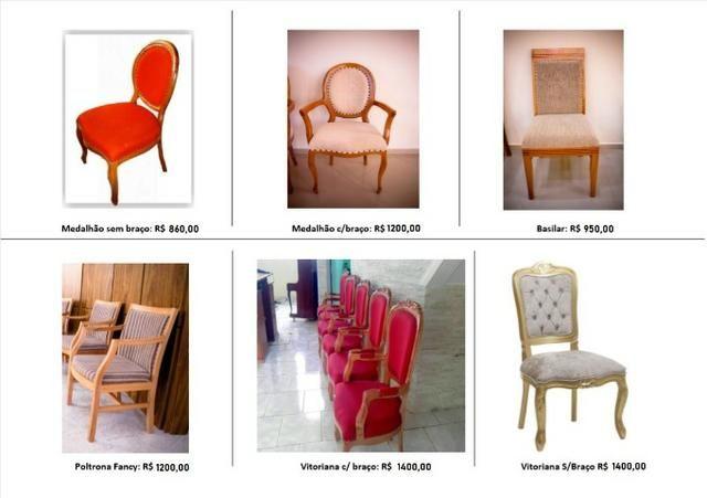 Cadeiras para igrejas, cadeira para templos, nave, santuários, escritórios - Foto 4