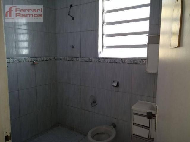 Casa com 3 dormitórios para alugar, 80 m² por r$ 1.350,00/mês - jardim presidente dutra -  - Foto 11