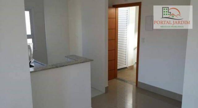 Apartamento com 2 dormitórios à venda, 75 m² por r$ 350.000 - vila camilópolis - santo and - Foto 3