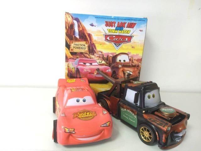 Conjunto Carros McQueen e Mater - Foto 2