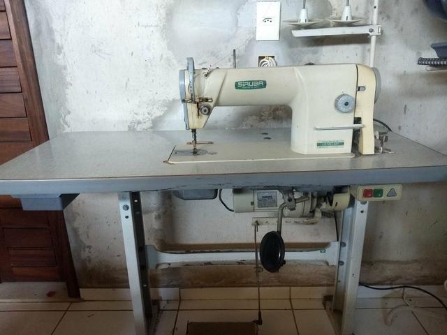 Máquina De Costura Industrial Reta Siruba - Foto 2