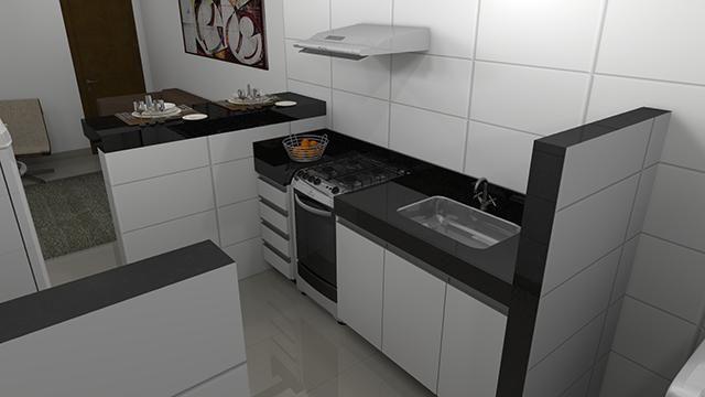 Apartamento à venda com 2 dormitórios em Jardim candelaria, Divinopolis cod:11443 - Foto 3