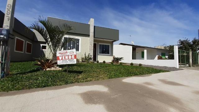 48x pra pagar! Casa 2 dormitórios em Capão da Canoa