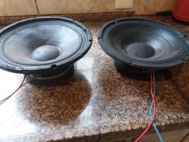 2 auto falantes de 10 polegadas 150 watts cada - Foto 2