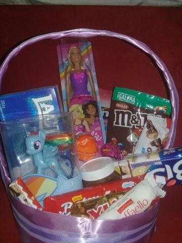 Vendo cestas dia das crianças a partir de R$60.00 Reais ACEITO CARTÕES