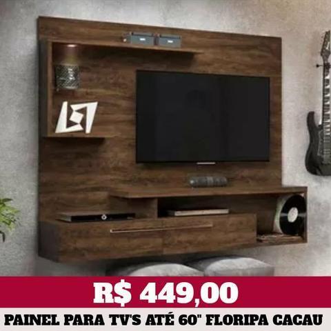 Painel de Televisão para TV's até 60 polegadas (2 modelos) - Foto 2