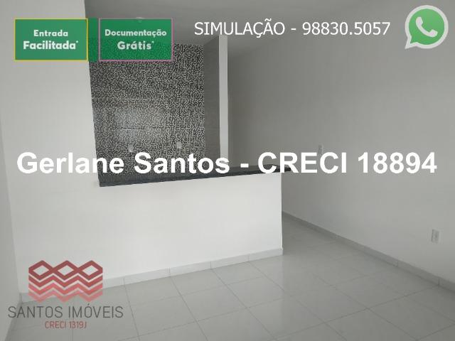 Escritura Grátis Casa 02 Quartos, 2 banheiros, 2 garagens - Foto 4