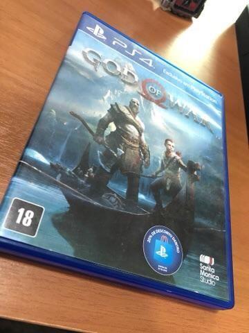 Vendo God of War - PS4