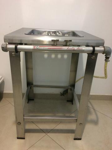 Fogão industrial 1 boca em inox - Foto 2