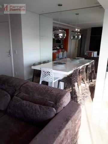 Apartamento com 3 dormitórios à venda, 92 m² por r$ 699.000 - vila augusta - guarulhos/sp - Foto 3