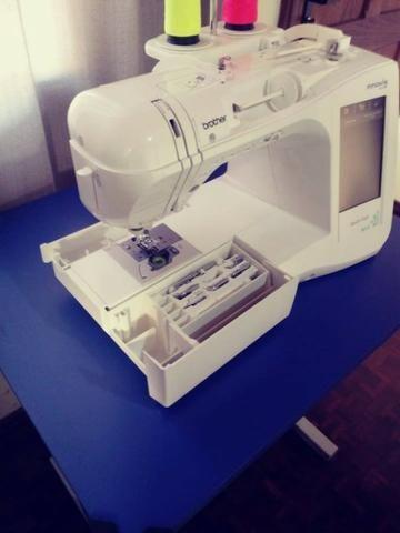 Maquina de costura Patchwork Quilt Brother Innov-ís Qc-1000 - Foto 5