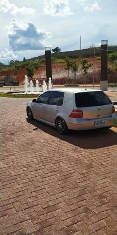 Vendo ou troco Golf 1.6 2000 Completo + Susp Ar + Legalizado - Foto 7