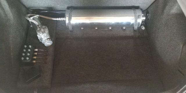 Vendo ou troco Golf 1.6 2000 Completo + Susp Ar + Legalizado - Foto 12