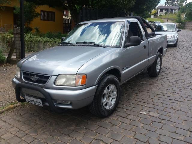 s10 gasolina - 4x2 não aceito trocas - 1997