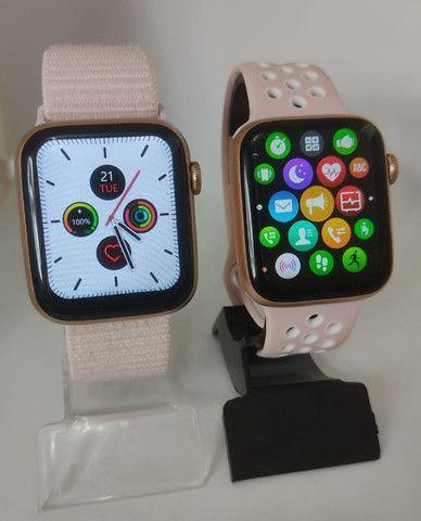Smartwatch iwo 12 lite pro (Rosa) Tela Infinita - Foto 2