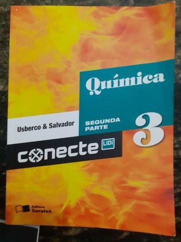 Pacote 4 Livros De Química Conecte - Saraiva - Foto 4