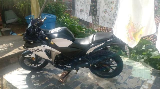 Vendo moto NAZAXX ou troco em carros q esta bem conservado - Foto 7