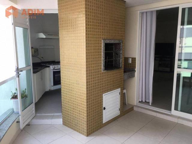 Apartamento com 3 dormitórios para alugar, 97 m² por R$ 3.228/mês - Pioneiros - Balneário  - Foto 5
