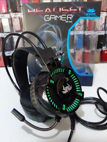 Fone De Ouvido Headset Jogos Gamer Original 7.1 P2 LED