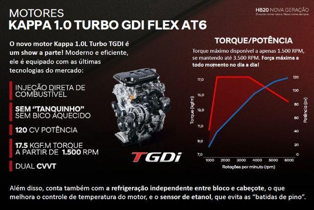 HB20 1.0 turbo AT Diamond - Foto 8
