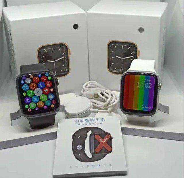 Smartwatch W46 Tela infinita Original Bluetooth Android IOS