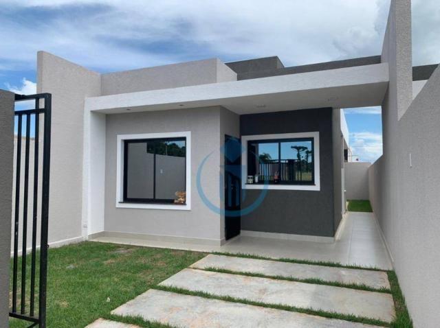 Casa com 2 dormitório à venda, 64 m² por R$ 225.000 - Sao Caetano - Foz do Iguaçu/PR