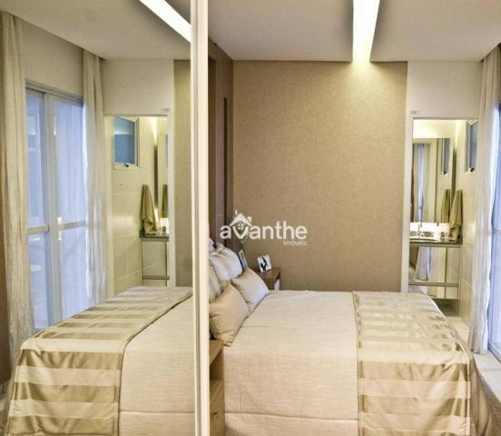 Apartamento com 3 dormitórios à venda, 74 m² por R$ 317.000 - Santa Isabel Zona Leste - Te - Foto 7