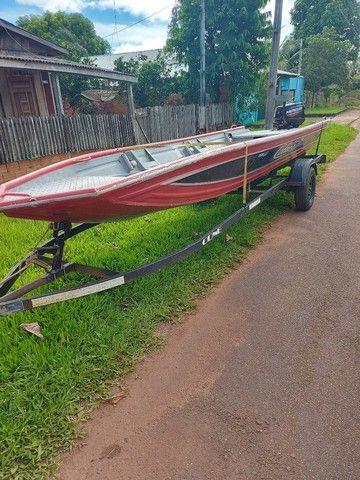 Kit barco calaça caretinha motor mercury
