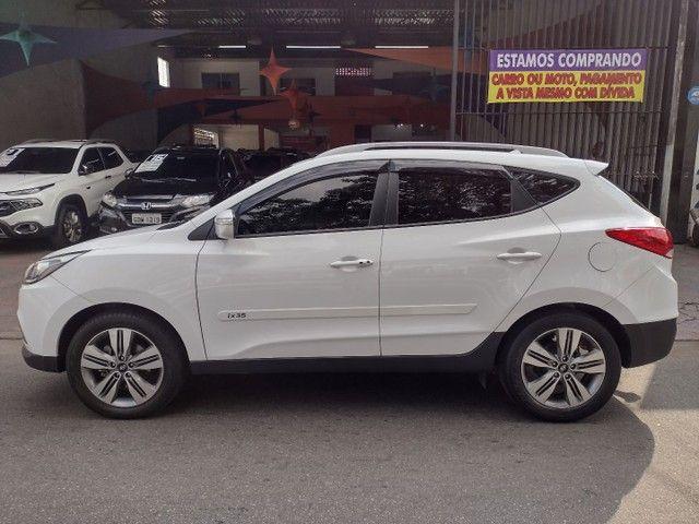 HYUNDAI IX35 GLS 2017 COMPLETO AUTOMÁTICO + COURO  - Foto 5