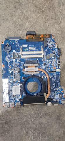 Placa mãe Sony MBX 269 defeito