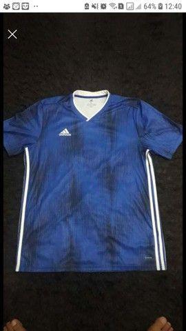 camisa adidas Tiro 19 azul GG