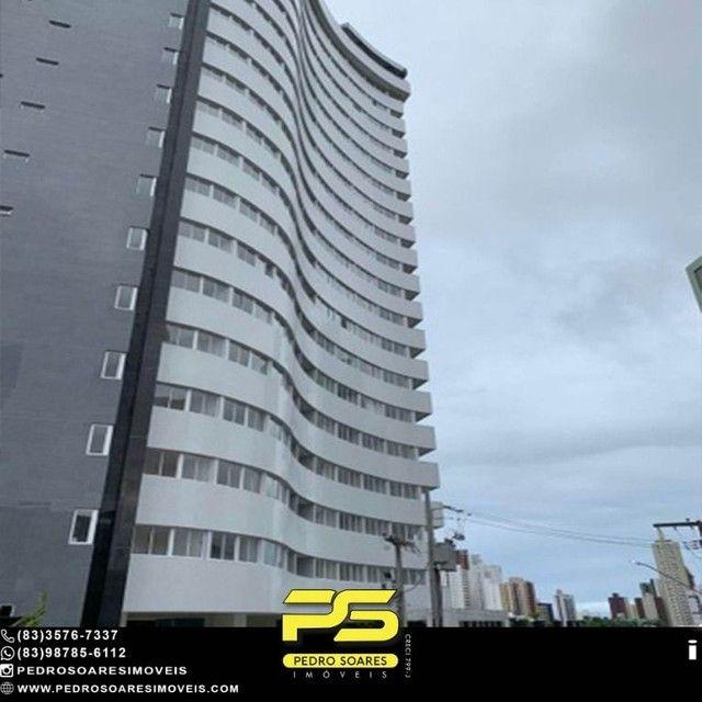 Apartamento com 2 dormitórios à venda, 64 m² por R$ 375.000 - Miramar - João Pessoa/PB - Foto 3