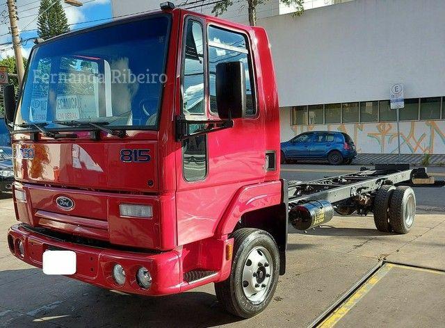 Ford cargo 815 chassis - baixo km - revisado  - Foto 16