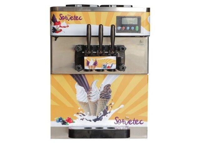 Máquina de Sorvete Expresso, Açaí e Frozen
