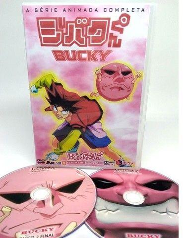 Box Dvd Anime Bucky Dublado Completo - Foto 2