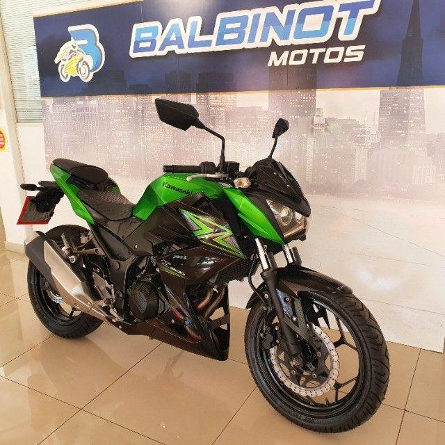 Kawasaki Z300 2016 Verde - Foto 2